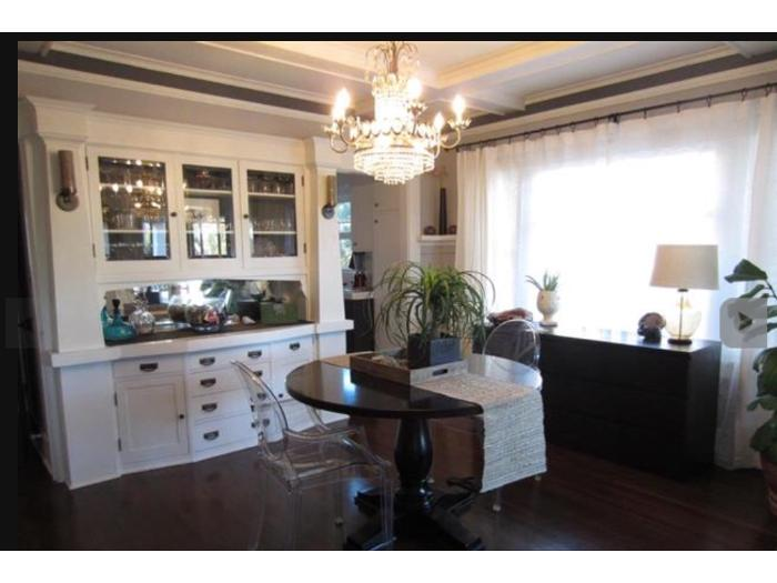 Dining Room Is Perfect For Entertaining Original Built In Hutch Adds Charm And Extra Storage Space To Your Home Walk Through The Kitchen