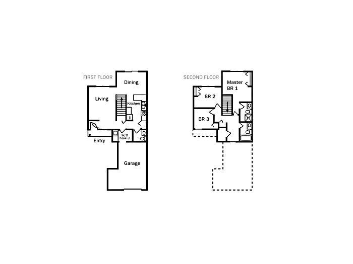 25576 James Street Calcium NY 13616 Military Housing – Fort Drum Housing Floor Plans